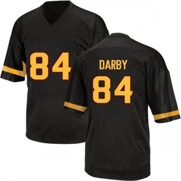 Men's Frank Darby Arizona State Sun Devils Adidas Game Black Football College Jersey