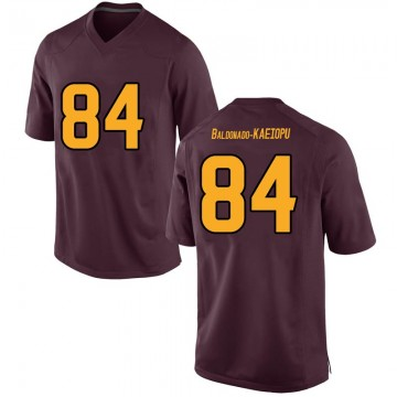 Men's Tyerell Baldonado-Kaeiopu Arizona State Sun Devils Nike Game Maroon Football College Jersey