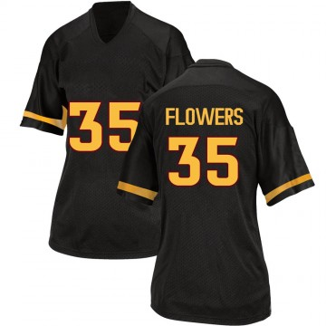 Women's Thaiger Flowers Arizona State Sun Devils Adidas Replica Black Football College Jersey