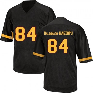 Youth Tyerell Baldonado-Kaeiopu Arizona State Sun Devils Adidas Game Black Football College Jersey